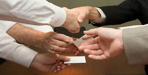 Business Card Exchange @ Town Hall